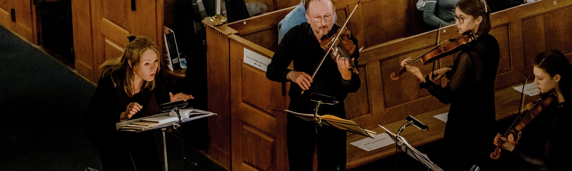 Conductor - Anne Marie Granau Støttekoncert. Foto: Andrea Hoffmann
