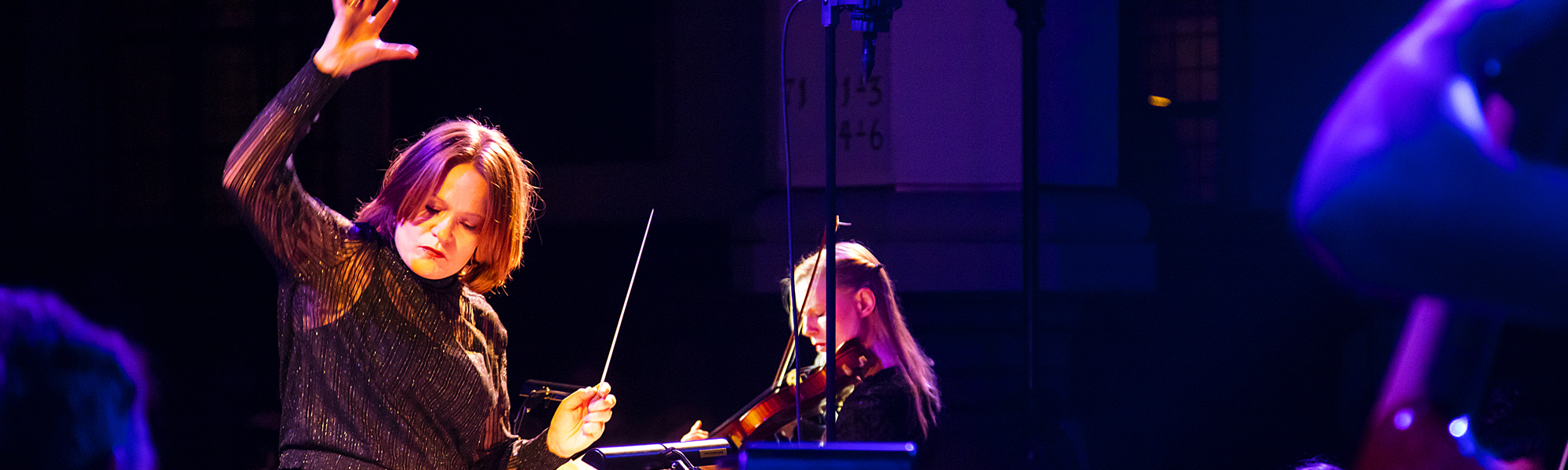 Conductor - Anne Marie Granau Julekoncert 2019. Foto: Jeanette Philipsen